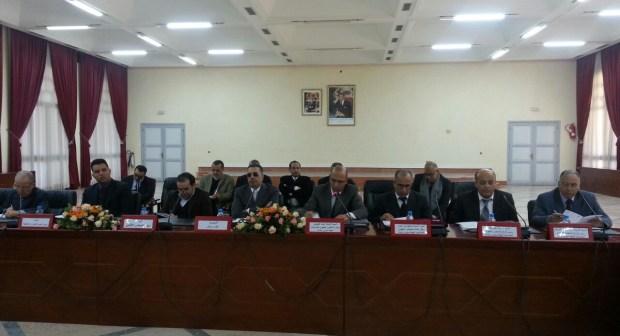عمالة اشتوكة آيت باها تحتضن اجتماعا لتقديم اختصاصات المجلس الجهوي للحسابات