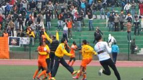 فوز صعب لنهضة بركان على الزمالك المصري في ذهاب نهائي كأس الاتحاد الافريقي