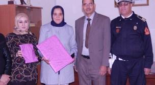 بيوكرى : إحساس التكريم في اليوم العالمي للمرأة على لسان عزيزة نجيب رئيسة المصلحة الإدارية بأمن المدينة