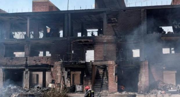 ثلاثة مغاربة ضمن ضحايا حريق مهول في مبنى بجزيرة إيبيزا الاسبانية