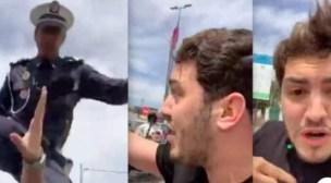 بعد ظهور شرطي في فيديو يعتدي على كوميدي.. هذا ماقررت مديرية الحموشي فعله