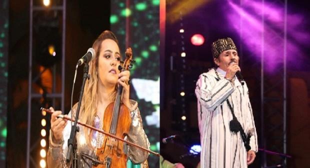 الحسين الباز و زينة الداودية يتألقان في أولى سهرات تيميزار