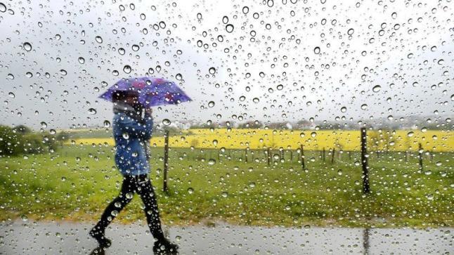 قطرات مطرية متفرقة خلال طقس نهار اليوم الخميس