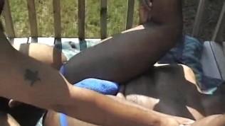 Chubby Neighbor Fucked Raw On The Porch – Ty Lattimore