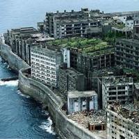 заброшенный город остров Хасима