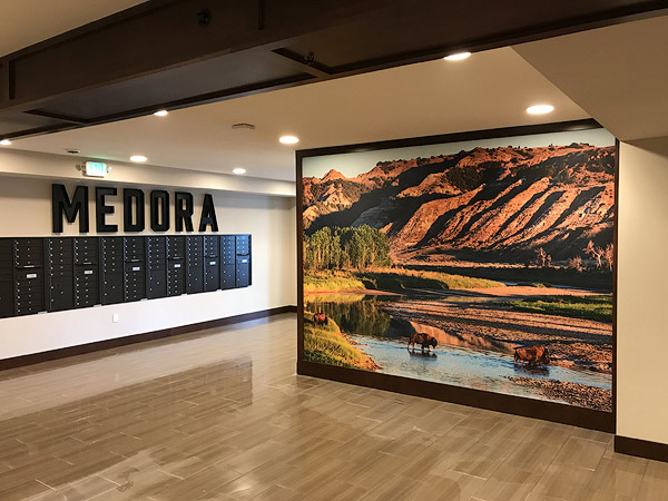 Medora Lobby - Commercial Photography by Chuck Haney