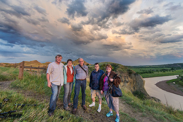 2015 Photo Workshop in Theodore Roosevelt National Park, North Dakota, USA