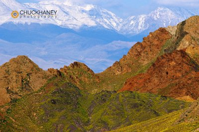 Colorful Black Mts, Pantamints in background