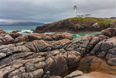 Fanad Head lighthouse in County Donegal Ireland