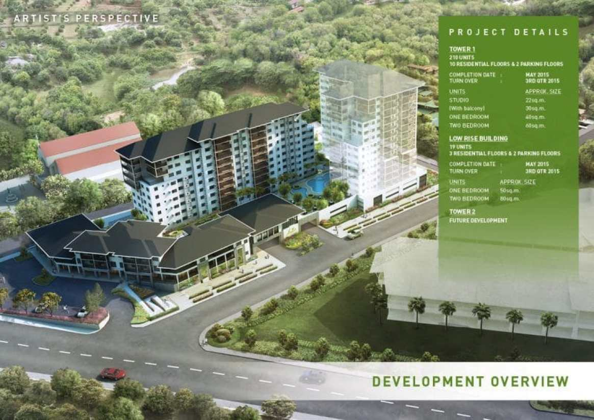 Asilo Tagaytay - Aerial View (Development)