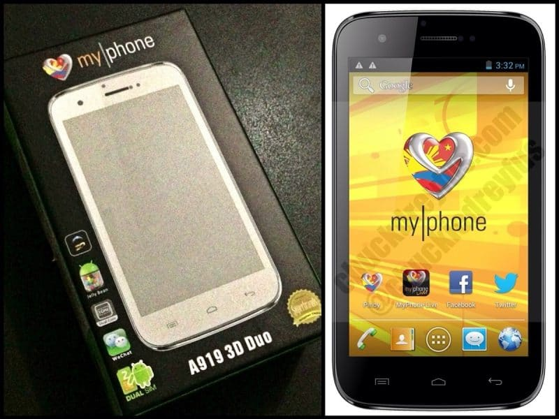 myphone a919i duo firmware