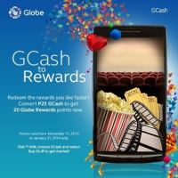 GCash to Globe Rewards Points - It's possible!