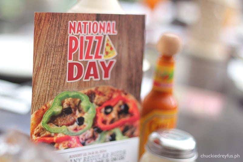 National Pizza Day at California Piizza Kitchen (CPK)