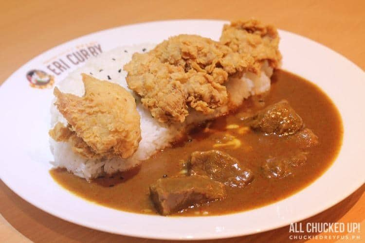 Eri Curry - Beef Curry with Karaage