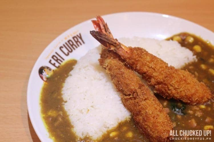 Eri Curry - Fried Shrimp Curry
