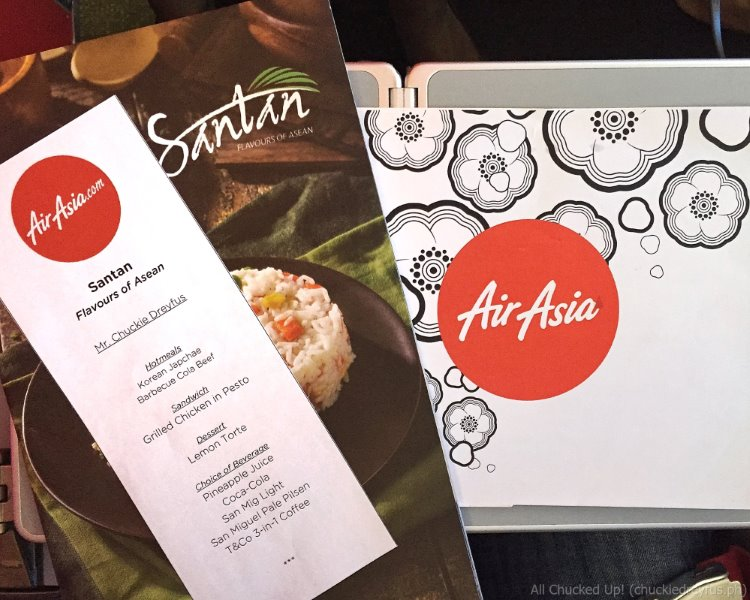 Santan - Philippines AirAsia In-Flight Meal