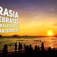 AirAsia celebrates inaugural flight to Caticlan (Boracay)! Let's go!