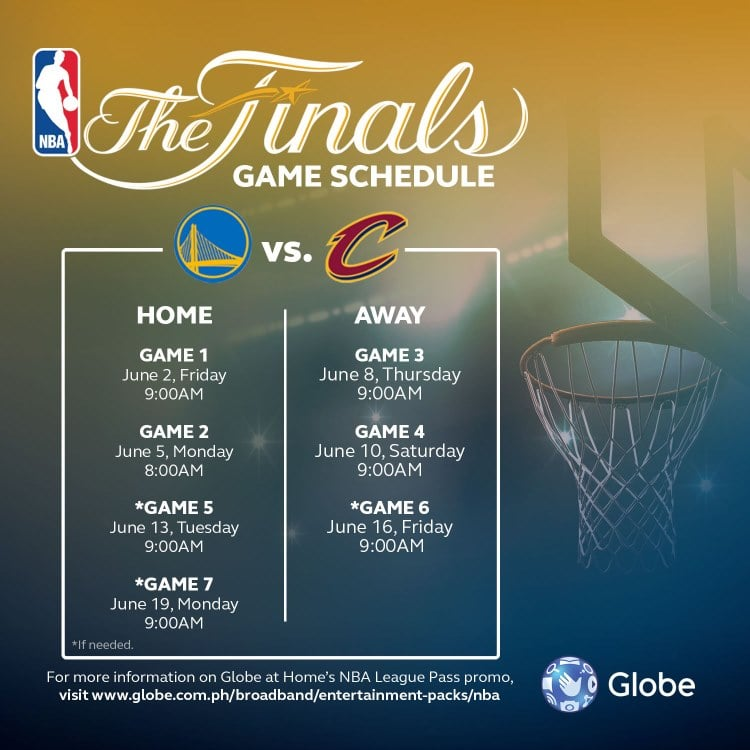 NBA League Pass - Globe at Home - The Finals