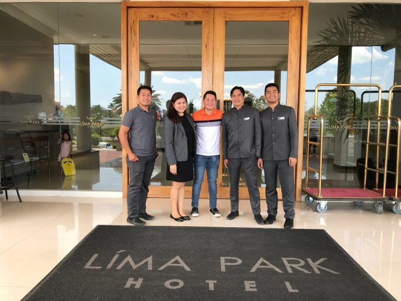 Lima Park Hotel with Staff