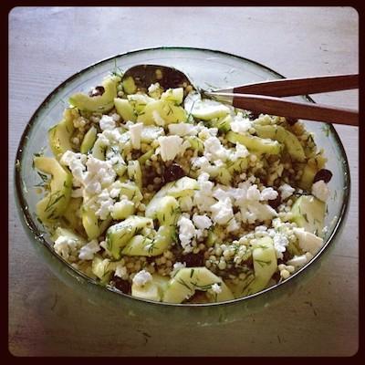 salada pepino