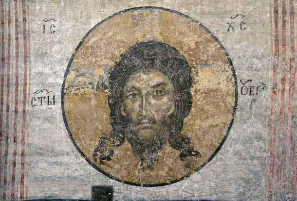 Исус върху убрус