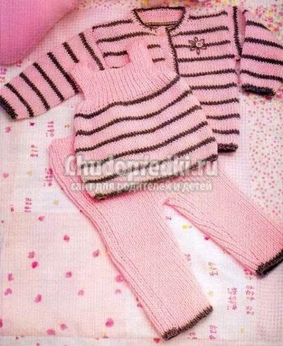 Вязание для новорожденных девочек подборка фото и схем