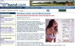 Thumbnail of Bend.com's unfortunate ad placement