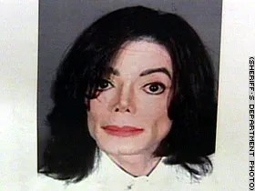 Michael Jackson's mugshot