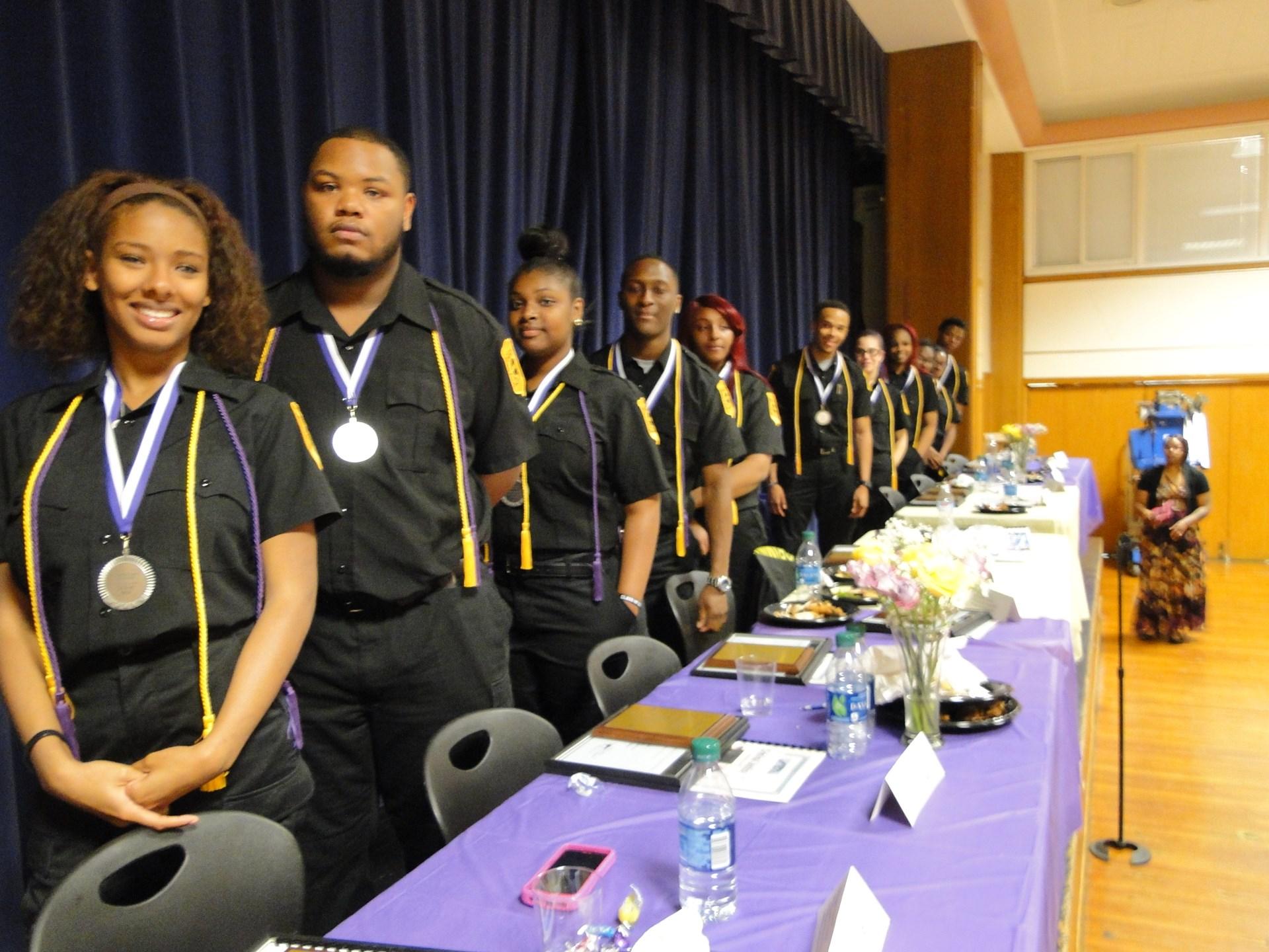 Criminal Justice Program End Of Year Ceremony