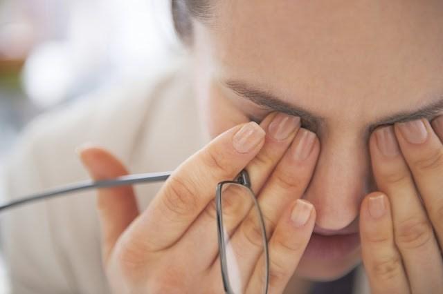 Avoiding eye strain by reducing your screen brightness