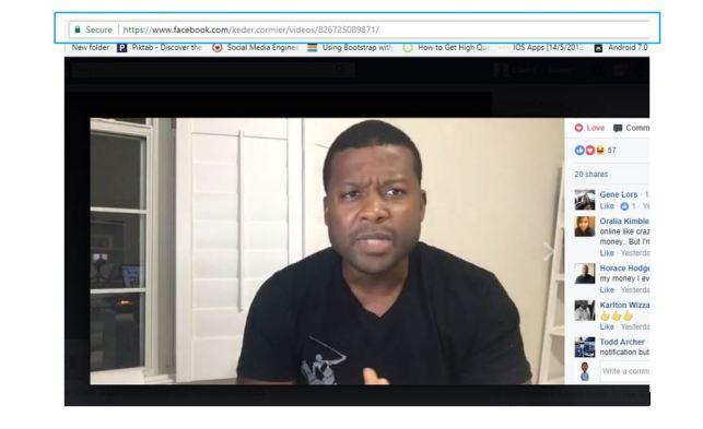 Download Facebook live video