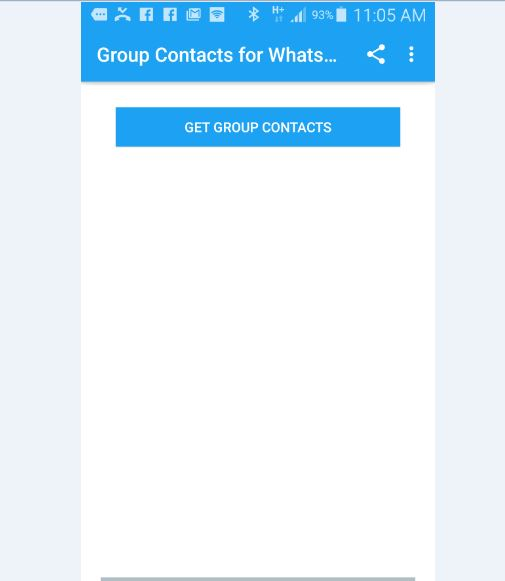extract WhatsApp Group contacts numbers?