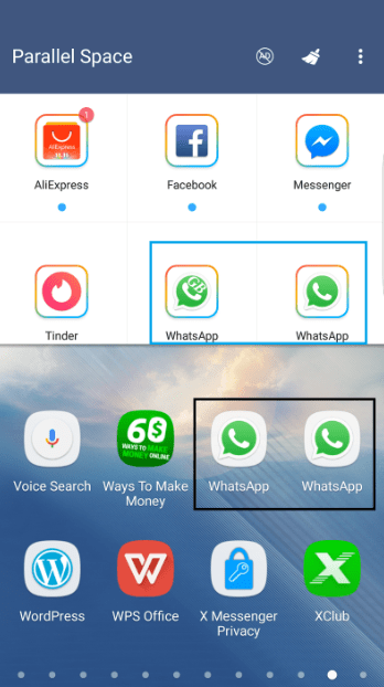 Create multiple WhatsApp accounts