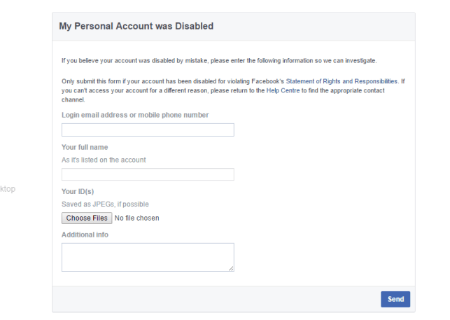 restore hacked facebook account email deleted