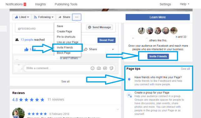 How To Invite All Your Facebook Friends To Like Your Page At Once 2018