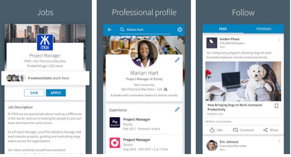 linkedin social app