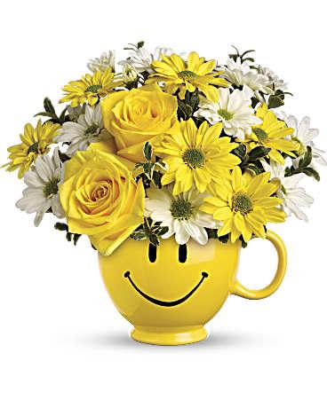 Happy florist in Chula Vista California