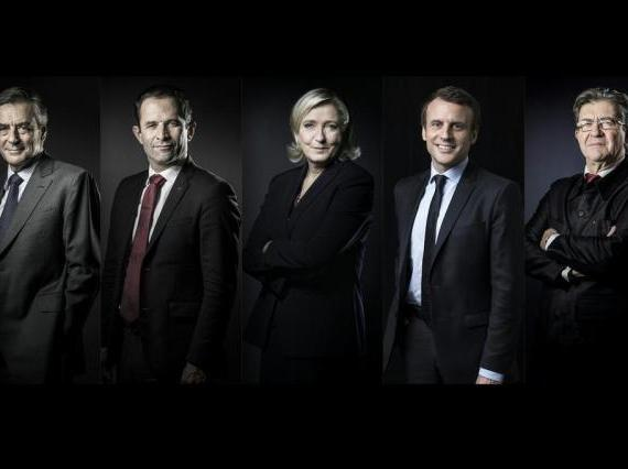 candidatos frança
