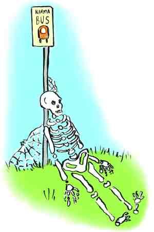 Waiting for karma