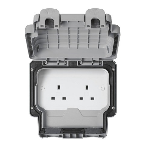 MK Electric Masterseal Plus™ 2位 13A 插座 – CHUNG HING
