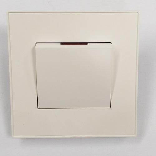 MK Electric Elements 1位20AX單控雙極大面板開關掣 (有定位燈/顯示屏) – CHUNG HING