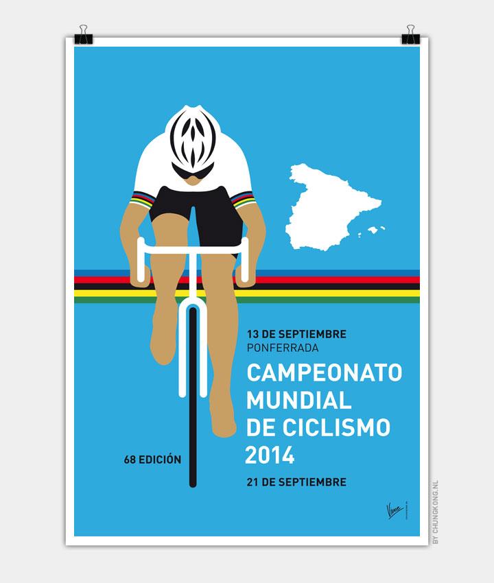 my uci road world championships minimal