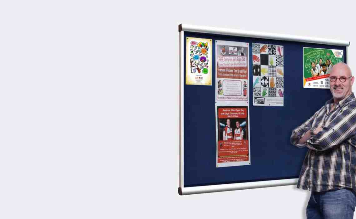Wall Mounted Church Noticeboards
