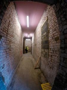 Looking back again onto the main corridor.