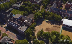 Google Earth image from 2016 of the Junior School site.