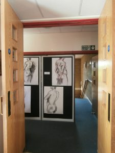 The Church High Art Department in the Barbour Wing.