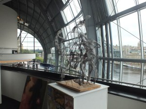 Church High exam students' artwork and sculpture became a regular feature at The Sage.