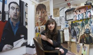 One of Church High's Fine Art successes in 2011: Abi Buchan having worked as a Freelance Graphic Designer is now Visual Designer for Amazon UK.