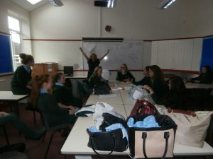 Year 10 say Goodbye to Geography 1, their form room, for the very last time in July 2014.