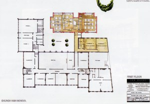 Ian Darby Partnership plans for the First Floor 1999 extension and refurbishment.